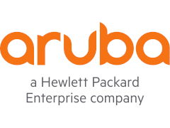 The logo for Aruba
