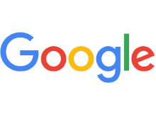 The logo for Google
