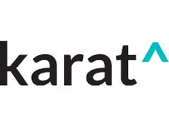 The logo for Karat